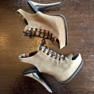 Elizabeth and James E-Margo Canvas Platform Heels